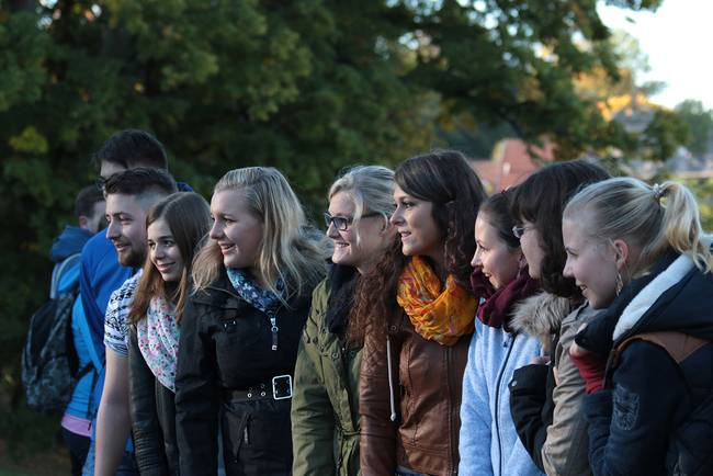 Students of Coburg University in Germany