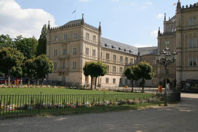 Schloss Ehrenberg am Schlossplatz Coburg